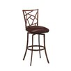 "Pastel Furniture Homestead 27.25"" Swivel Bar Stool with Cushion"