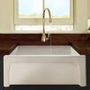 "Nantucket Sinks Cape 24"" x 18"" Fireclay Farmhouse Apron Kitchen Sink"