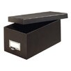 Globe Weis Fiberboard Index Card Storage Box (Set of 36)