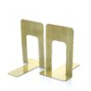 Officemate International Corp Nonskid Steel Book Ends (Set of 2)