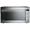 Panasonic® 1.6 Cu. Ft. 1250W Countertop/Built-In Microwave in Stainless Steel