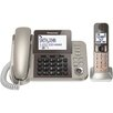 Panasonic® PanasonicDect 6.0 Corded/Cordless Phone System with Caller Id and Answering System