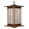 Arroyo Craftsman Himeji 1 Light Outdoor Hanging Lantern