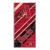 Northwest Co. MLB Diamondbacks Diagonal Beach Towel