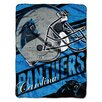 Northwest Co. NFL Panthers Deep Slant Micro Raschel Throw
