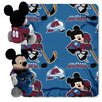 Northwest Co. NHL Mickey Mouse Throw