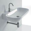 """WS Bath Collections Ciotola 19.7"""" Wall Mounted Vessel Bathroom Sink"""