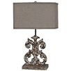 """Crestview Collection French Regent Lewiston 26"""" H Table Lamp with Rectangular Shade"""