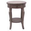 Crestview Collection Providence 1 Drawer End Table