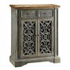Crestview Collection Chatsworth Pierced Door Cabinet