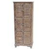 Crestview Collection Jackson 6 Door Weathered Oak Cabinet