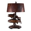 "Crestview Collection 1st Catch 32"" H Table Lamp with Empire Shade"