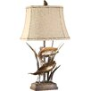 """Crestview Collection Upstream 32"""" H Table Lamp with Bell Shade"""