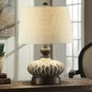 """Crestview Collection Providence 21"""" H Table Lamp with Empire Shade"""