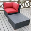 Bellini Home and Garden Pasadina 2 Piece Deep Seating Group with cushions