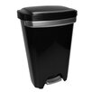 Hefty 50 Qt Premium Step on Wastebasket (Set of 2)