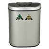 Nine Stars Nine Stars 18.5-Gal Motion Sensor Recycle Trash Can
