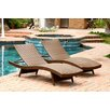 Abbyson Living Palermo Chaise Lounge (Set of 2)