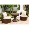 Abbyson Living Palermo 3 Piece Seating Group with Cushions