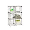 "Honey Can Do Modular Mesh Storage Cube 44.75"" Shelving Unit"