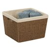 Honey Can Do Parchment Cord Basket with Liner