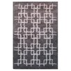 L.A. Rugs Touch Gray/White Indoor Area Rug