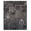 L.A. Rugs Black/Gray Area Rug