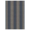 Dash and Albert Rugs Woven Otis Navy Indoor/Outdoor Area Rug