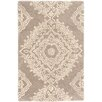 Dash and Albert Rugs Medallion Wool Tufted Lace Area Rug