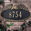 Whitehall Products Eagle Standard Address Plaque
