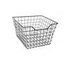Cheungs Square Metal Wire Storage Bin