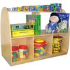 "A+ Child Supply Two Sided Arch 30"" Bookcase"