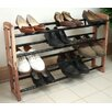 Proman Products Expandable Stacking Cedar Shoe Rack