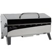 """Kuuma Products 23.25"""" Stow N' Go 160 Gas Grill with Regulator, Thermometer and Igniter"""