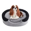Soft Touch Lucky Oval Cuddler Dog Bed with Cushion