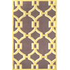 nuLOOM Geometric Rosa Hand Hooked Cotton Gold Area Rug