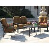 Blue Wave Products Sereno Bay 4 Piece Deep Seating Group with Cushions
