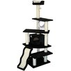 "Go Pet Club 70"" Faux Fur Cat Tree"
