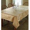 Violet Linen European Rose Tablecloth