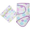 Miracle Blanket Colorful Bursts 2 Piece Blanket Set