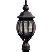 Artcraft Lighting Classico 3 Light Outdoor Post Lantern