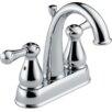 Delta Leland Two Handle Centerset Lavatory Faucet with Pop-Up Drain