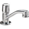 Delta Metering Single Handle Self-Closing Metering Bathroom Faucet