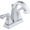 Delta Dryden Double Handle Centerset Bathroom Faucet with Sink Faucet (Drain Included)