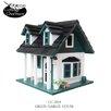Home Bazaar Cottage Charmer Series Green Gables Freestanding Birdhouse