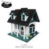Home Bazaar Cottage Charmer Series Green Gables Decorative Bird Feeder