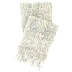 Pine Cone Hill Chunky Knit Mist Wool Throw