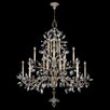 Fine Art Lamps Crystal Laurel 20 Light Chandelier