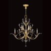 Fine Art Lamps Beveled Arcs 10 Light Chandelier