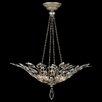 Fine Art Lamps Crystal Laurel Inverted Pendant
